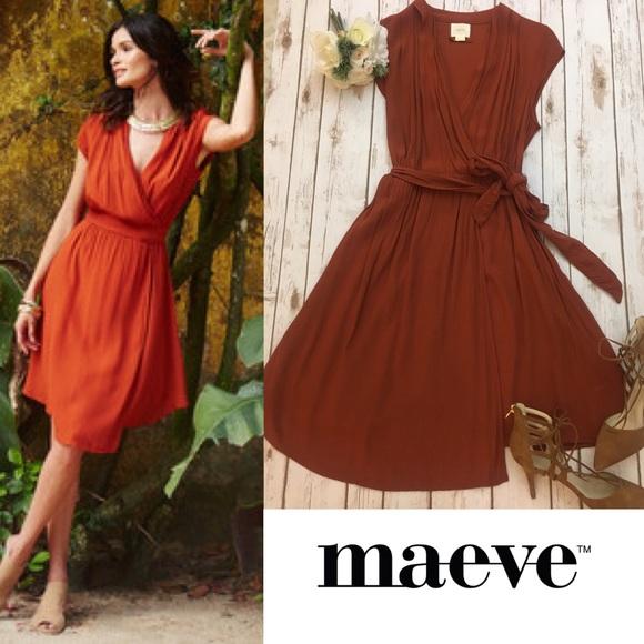 d1b664932b65 Anthropologie Dresses | Maeve Noronha Wrap Dress | Poshmark